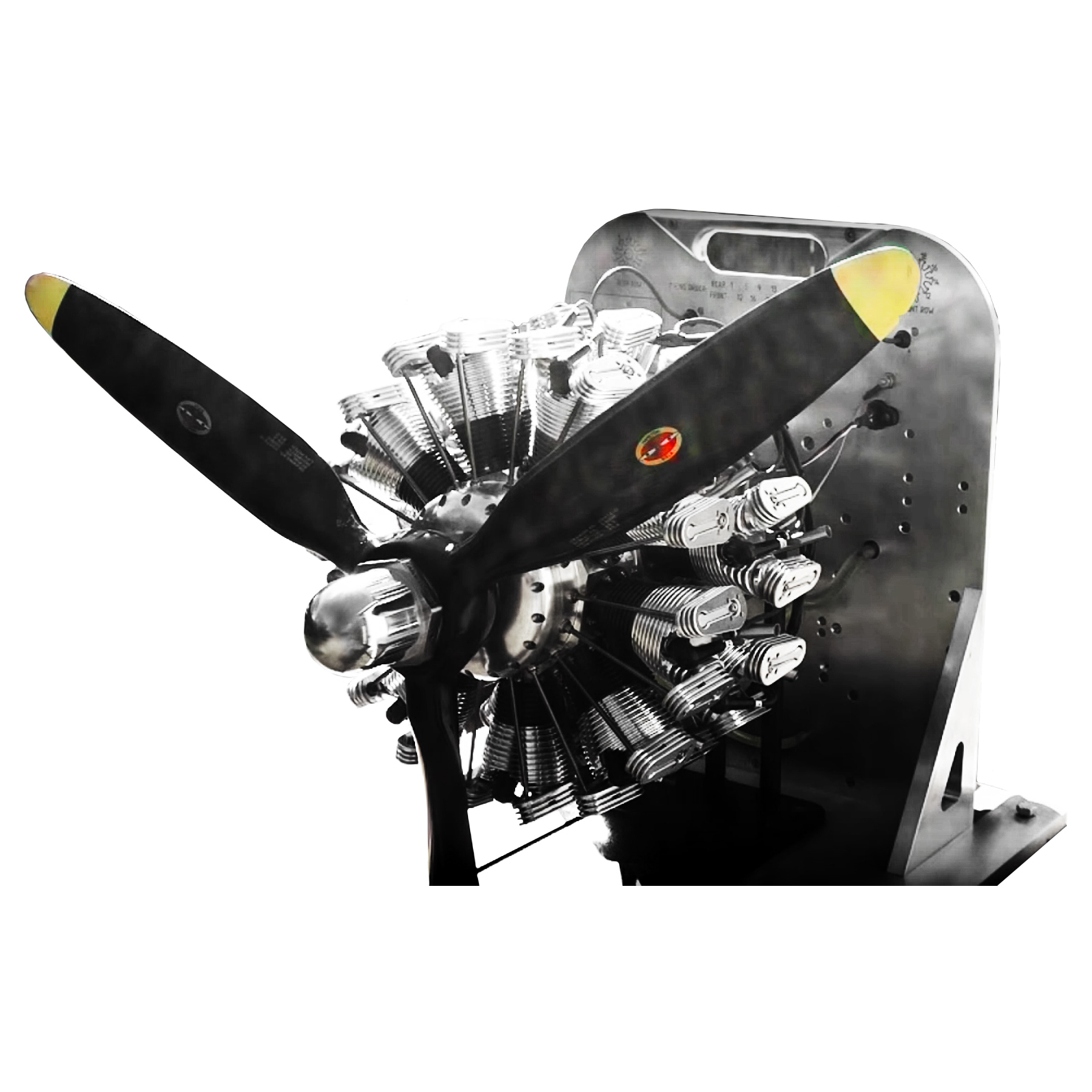 19-cyl-mini-airplane-engine