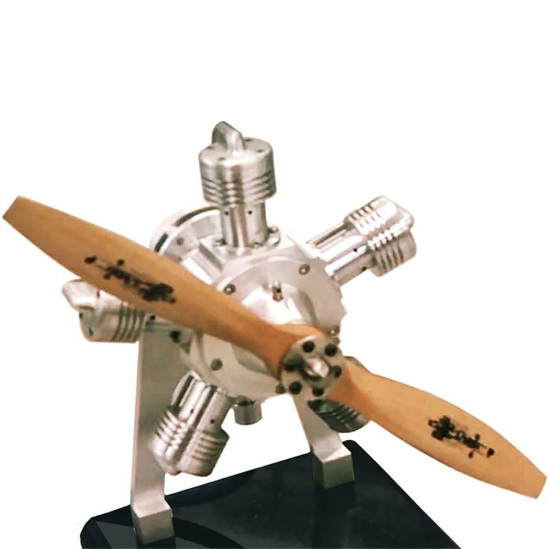 5-cyl-mini-airplane-engine